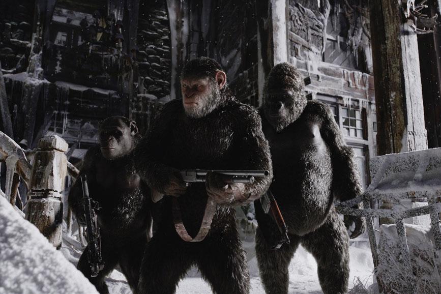 """Box Office Italia: seconda posizione per """"The War-Il pianeta delle scimmie"""""""