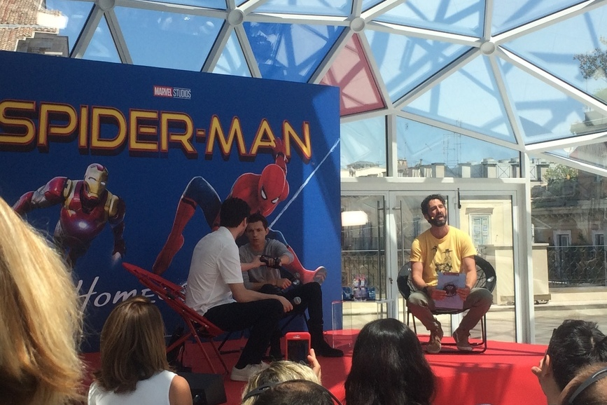 Spider-Man Homecoming Evento Stampa