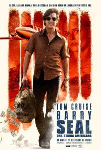 """Barry Seal - Una storia americana"" locandina"