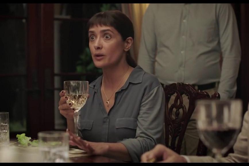 """Salma Heyek in """"Beatriz at Dinner"""""""