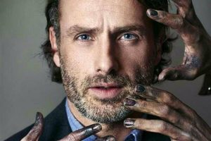 Andrew Lincoln zombie