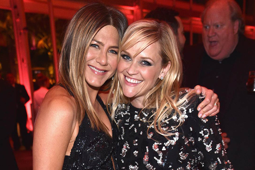 Jennifer Aniston e Reese Witherspoon insieme in una serie tv