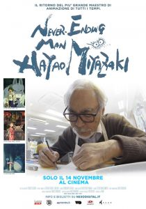 Miazaki Never ending man poster