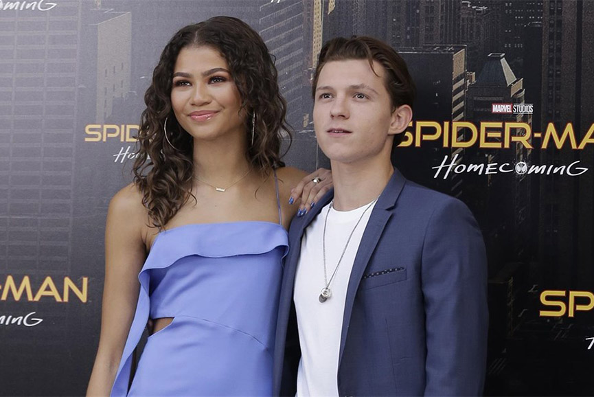 Tom Holland e Zenday sul red carpet