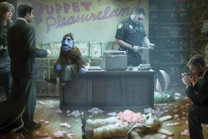 Happytime Murders puppet comedy movie