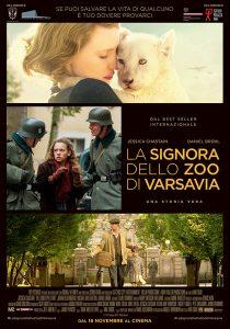 La signora dello zoo di Varsavia poster