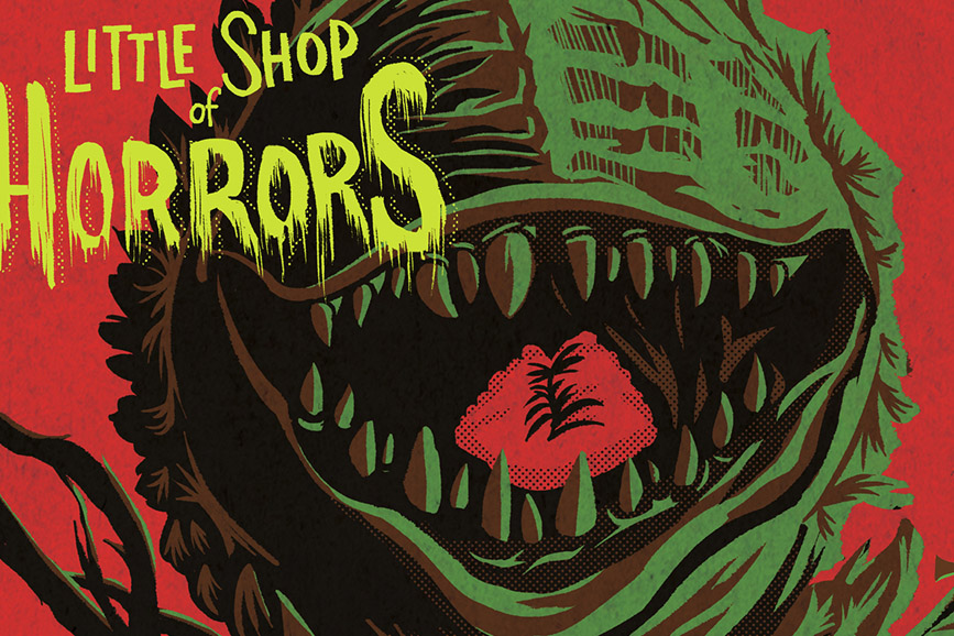 The Little Shop of Horrors locandina
