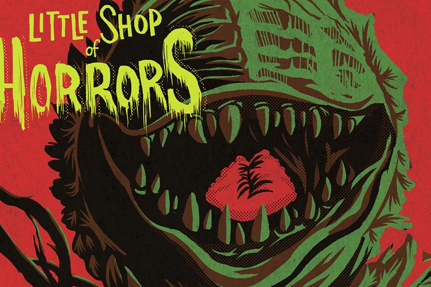 The Little Shop of Horrors locandina