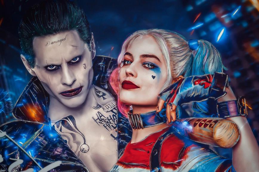 Jared leto confermato per il ruolo del joker nei film del dceu for Joker immagini hd