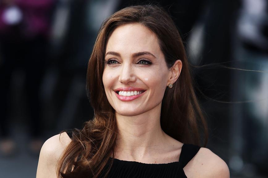 Angelina Jolie smile