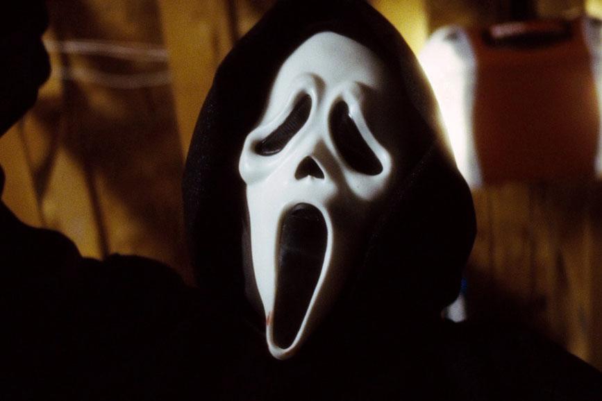 Scream il serial killer Ghostface