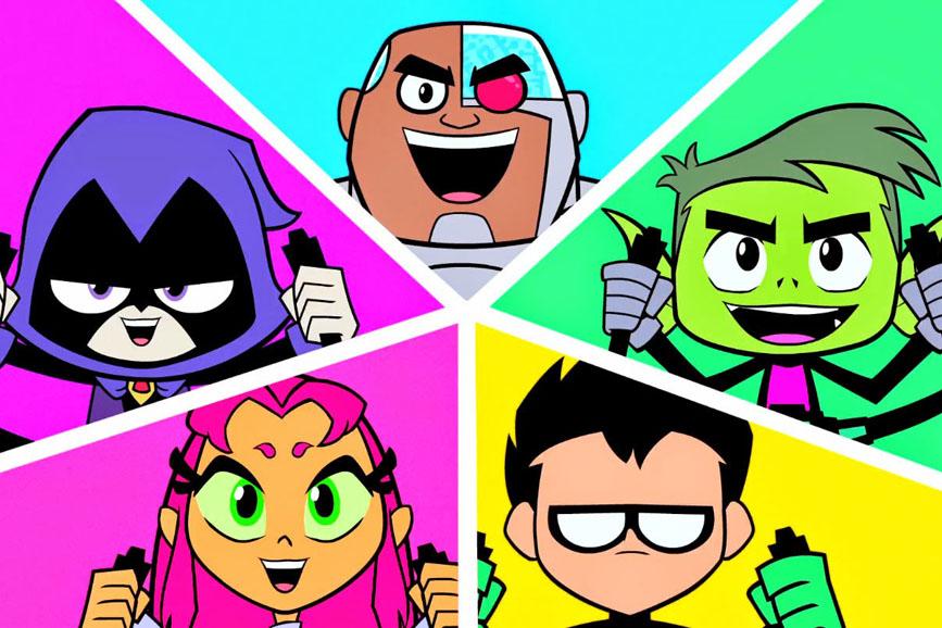 Teen Titans Go! i personaggi della serie animata