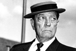 Buster Keaton anziano