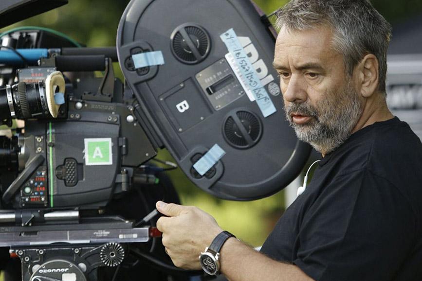 Luc Besson cinepresa