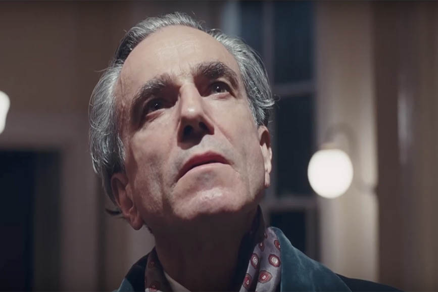 Il filo nascosto Phantom Thread Daniel Day-Lewis
