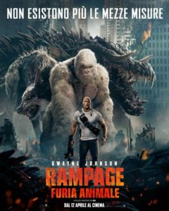 Rampage - Furia animale - locandina italiana
