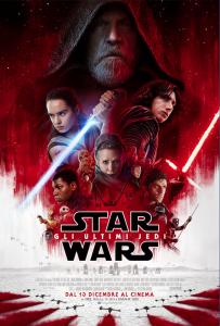 Star Wars: gli ultimi jedi locandina