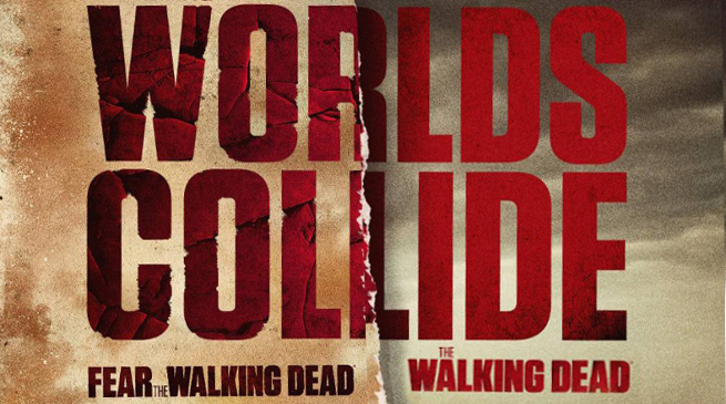 walking dead and fear the walking dead crossover