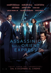 Assassinio sull'Orient Express Locandina ita