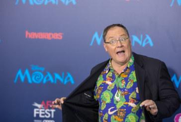 John Lasseter in pausa dalla Pixar