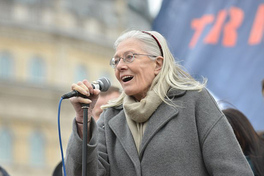 Vanessa Redgrave attivista