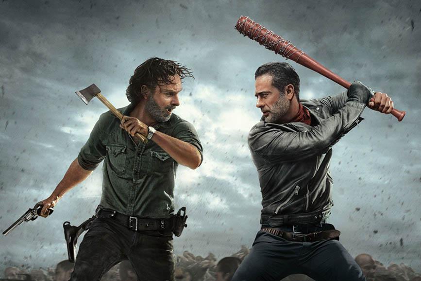 The Walking Dead morte Carl