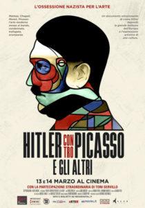 Hitler contro Picasso e gli altri locandina italiana