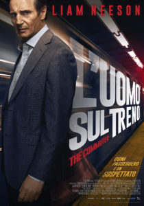L'uomo sul treno - The Commuter locandina definitiva