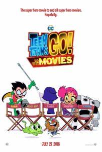 Teen Titans Go! – Il film poster originale
