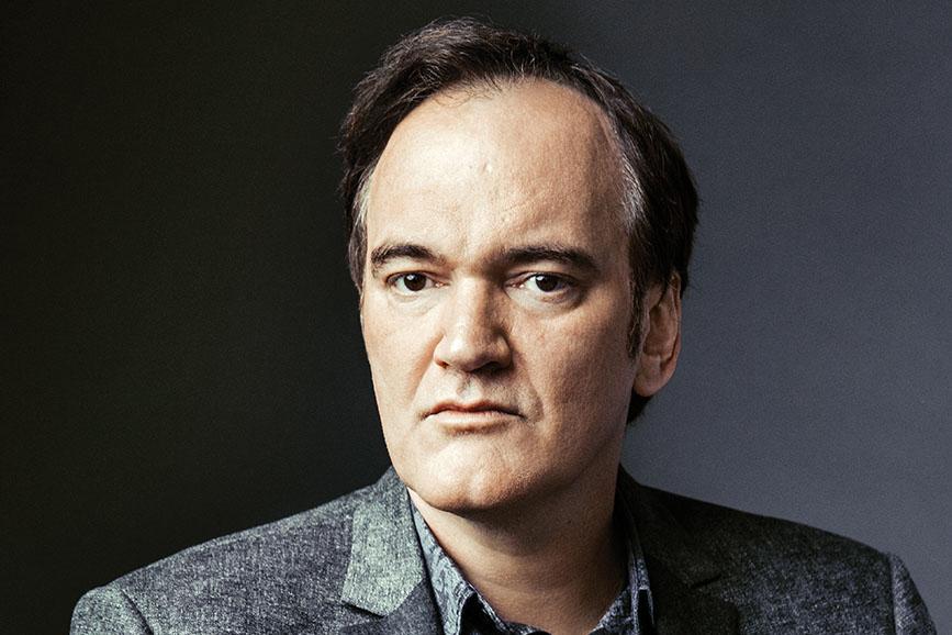 Quentin Tarantino posa