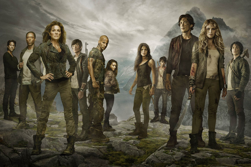 The 100 Cast