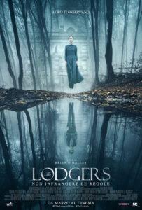 The Lodgers - Non infrangere le regole - Locandina italiana