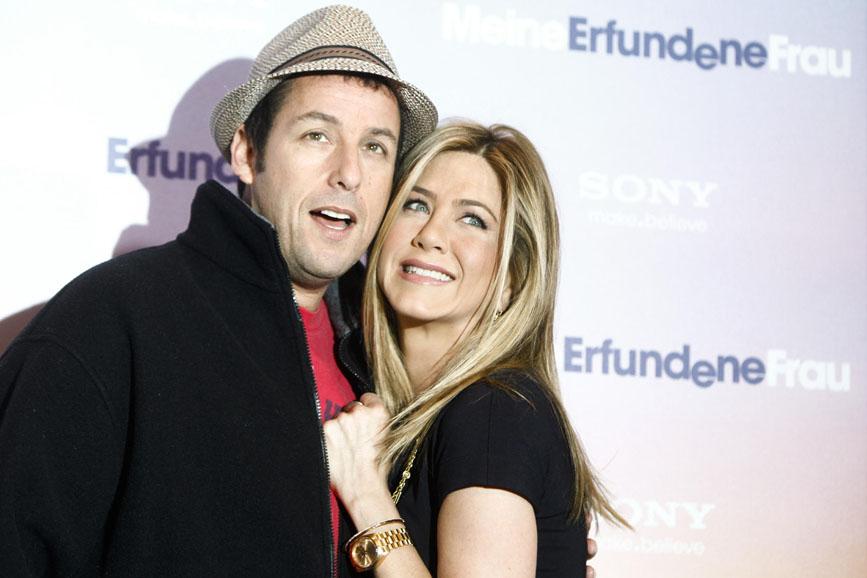Adam Sandler, Jennifer Aniston insieme