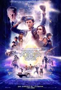 Ready Player One poster ita