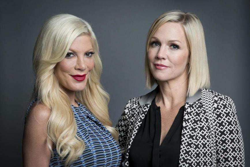 Tori Spelling e Jenny Garth Beverly Hills