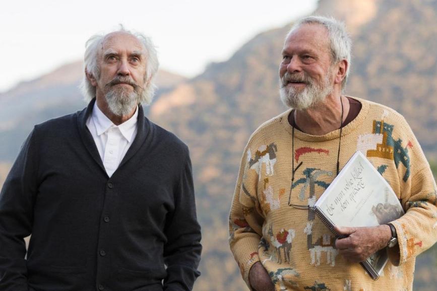 The Man Who Killed Don Quixote, Gilliam perde i diritti del film