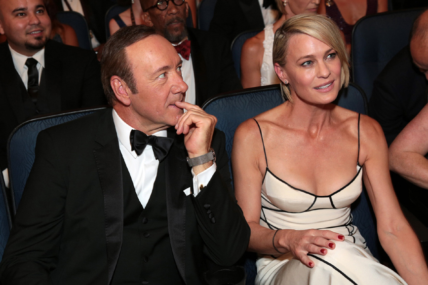 Robin Wright e Kevin Spacey foto